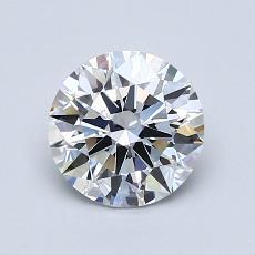 1.12 Carat 圆形 Diamond 理想 D FL