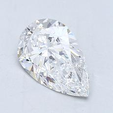 Recommended Stone #3: 1.10-Carat Pear Cut Diamond