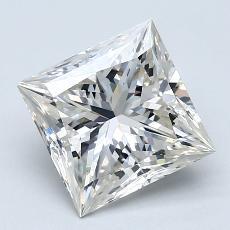 Pierre recommandée n°1: Diamant taille princesse 2,05 carat