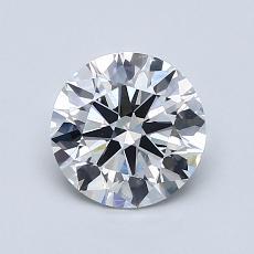 1.11 Carat 圓形 Diamond 理想 E VS1