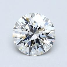 1.02-Carat Round Diamond Ideal H VS2