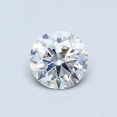 推薦鑽石 #3: 0.59 克拉圓形切割鑽石