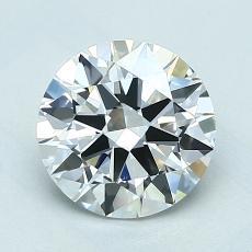 1,50 Carat Rond Diamond Idéale E VVS2