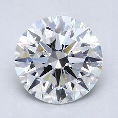1.51 Carat 圆形 Diamond 理想 E VS2