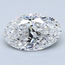 1.51-Carat Oval Diamond Very Good E VS2
