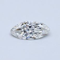Recommended Stone #2: 0,30-Carat Marquise Cut Diamond