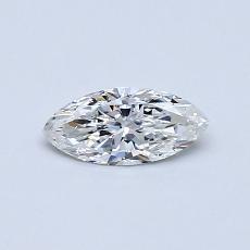 0.30-Carat Marquise Diamond Very Good F SI2