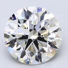 Current Stone: 3,01-Carat Round Cut