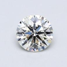 Recommended Stone #1: 0.74-Carat Round Cut