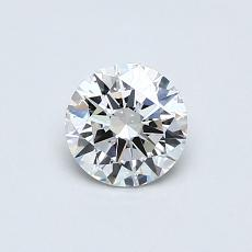0,50-Carat Round Diamond Ideal F VS1