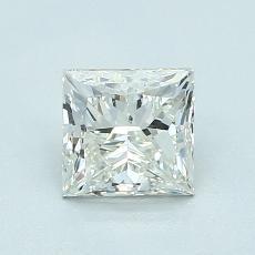 1.01-Carat Princess Diamond Very Good J SI1