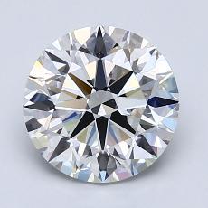 Pierre recommandée n°4: Diamant taille ronde 2,03 carat