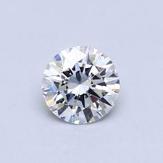 Recommended Stone #2: 0,50-Carat Round Cut