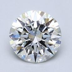1.52-Carat Round Diamond Ideal H IF