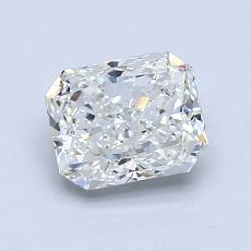 1.20-Carat Radiant Diamond Very Good I VS2