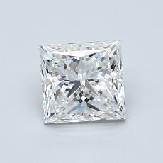 1.00 Carat Princesa Diamond Muy buena E VVS2