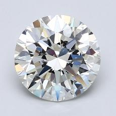 2.00-Carat Round Diamond Ideal H VVS2