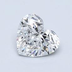 1.01-Carat Heart Diamond Very Good D IF