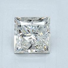 1,01 Carat Princesse Diamond Très bonne I SI1