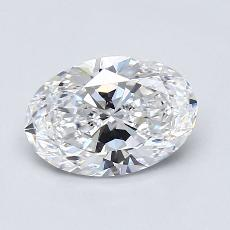 Recommended Stone #1: 1,31-Carat Oval Cut