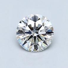 推荐宝石 4:0.61克拉圆形切割钻石