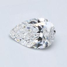 Target Stone: 0.60-Carat Pear Cut Diamond