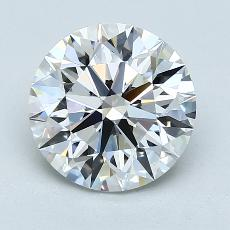 Recommended Stone #4: 2.46-Carat Round Cut