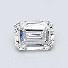 Recommended Stone #4: 0.81-Carat Emerald Cut Diamond