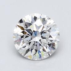 1.50 Carat 圆形 Diamond 非常好 D VS2