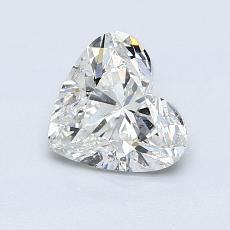 Recommended Stone #3: 1.01-Carat Heart Cut Diamond