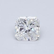 Recommended Stone #2: 0,61-Carat Radiant Cut Diamond