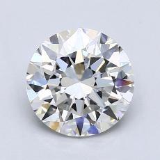 目标宝石:1.50克拉圆形切割钻石