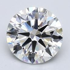 Recommended Stone #2: 2.51-Carat Round Cut