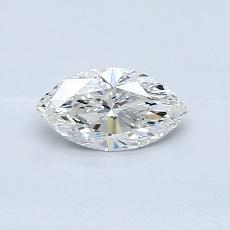Recommended Stone #4: 0.45-Carat Marquise Cut Diamond