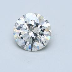 Current Stone: 3.91-Carat Round Cut