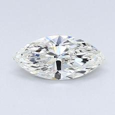 Recommended Stone #4: 0.53-Carat Marquise Cut Diamond