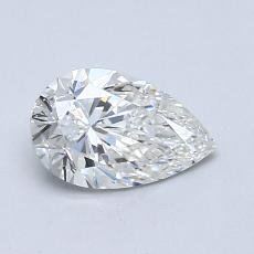 Recommended Stone #4: 0.71-Carat Pear Cut Diamond