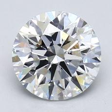 Current Stone: 2.35-Carat Round Cut
