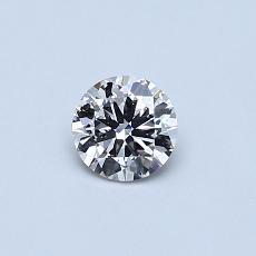 Target Stone: 0,30-Carat Round Cut Diamond