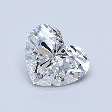 Recommended Stone #4: 0.83-Carat Heart Cut Diamond