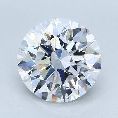 Pierre recommandée n°1: Diamant taille ronde 3,52 carat