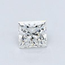 0.60-Carat Princess Diamond ASTOR F SI1
