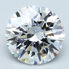 Recommended Stone #4: 3.02-Carat Round Cut Diamond
