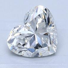 Recommended Stone #2: 1.70-Carat Heart Cut Diamond