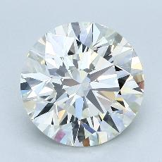Target Stone: 4.50-Carat Round Cut Diamond