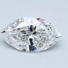 推荐宝石 3:1.91 克拉马眼形钻石