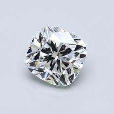 Pierre recommandée n°1: Diamant Taille coussin de 0,81carat
