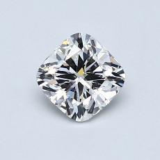 0.72-Carat Cushion Diamond ASTOR H VS2
