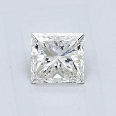 Recommended Stone #2: 0.70-Carat Princess Cut Diamond