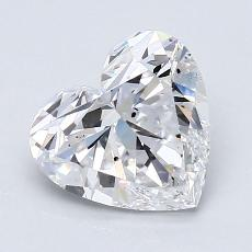 Recommended Stone #3: 2,02-Carat Heart Cut Diamond